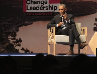 Climate Change Leadership Porto Summit 2018: collaboration key says Obama