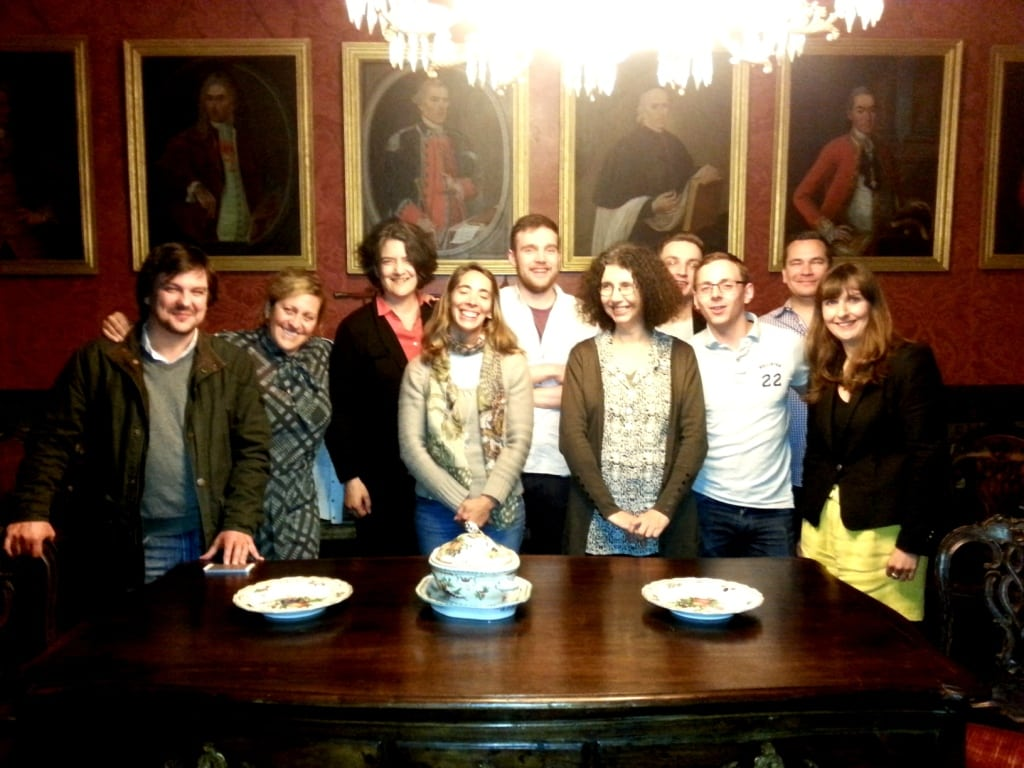 Me and my cohort of commeliers pictured with Dao producers