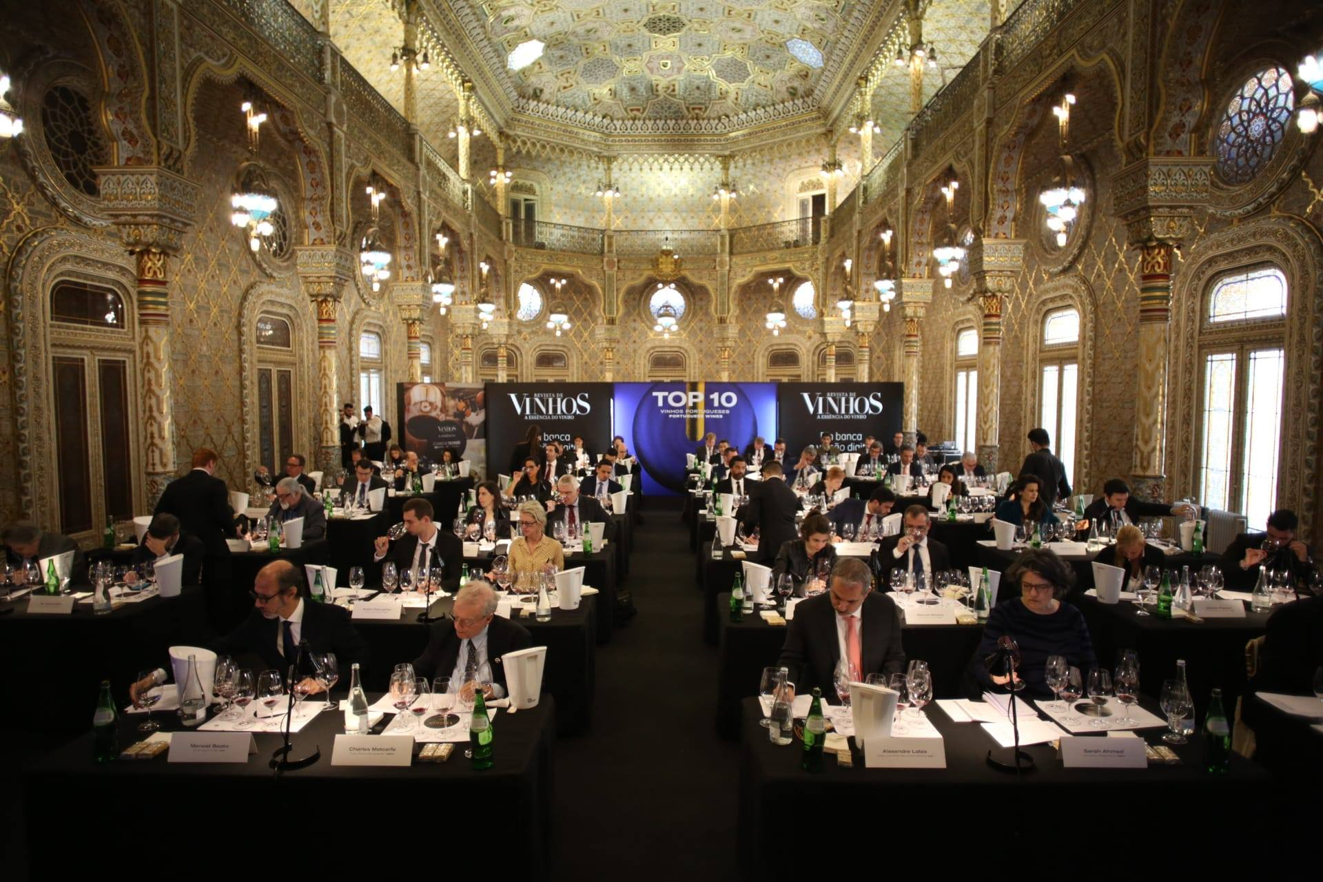 Revista de Vinho Essencia do Vinho 2020 Top 10 Judging