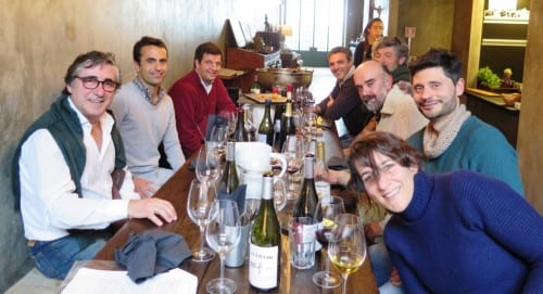 Simply wine, simply vignerons - lunch at Cantina 32