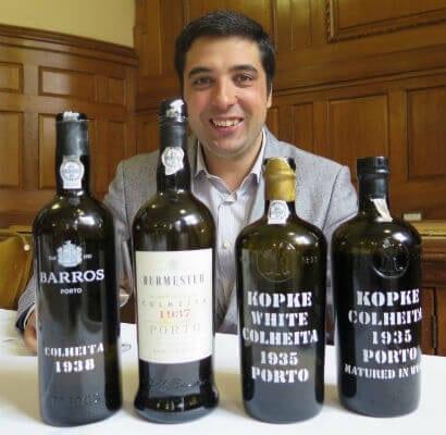 Carlos Alves - Winemaker at Sogevinus