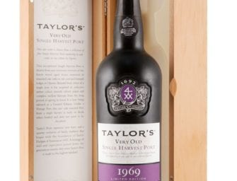 First taste: Taylor's Single Harvest Port 1969