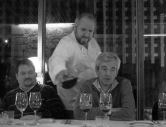 Friday Retro-post: fine wining & dining with Claro's/Dominó's Vitor Claro