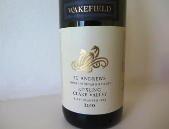 Mature: Wakefield St Andrew's Clare Valley Riesling 2010